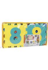Puzzle Eva 2 en 1 Cubes-numéros