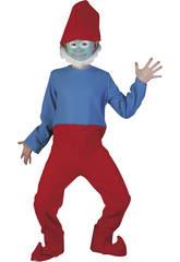 Disfraz Gnomo Rojo Niño Talla S