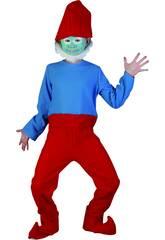 Maschera Gnomo Rosso Bambino Taglia M