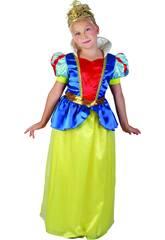 Déguisement Princesse des Neige Fille Taille XL
