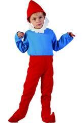 Disfraz Gnomo Rojo Bebé Talla S