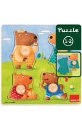 Puzzle Famiglia Orsi