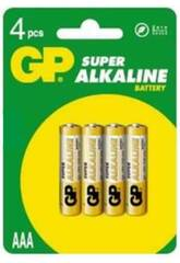 Blister 4 piles R3/AAA Alcalines G.P