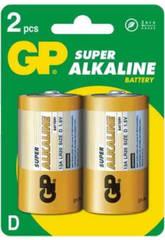 Pack 2 piles R20/D Alcalines G.P