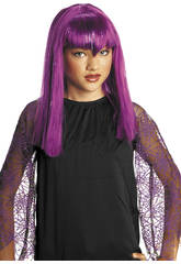 Peluca Infantil Vampiresa Color Lila Rubies S1515