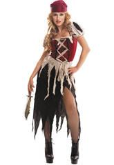 Disfraz Mujer L Pirata Aventurera
