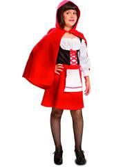 Maschera Bambina XL Cappuccetto Rosso
