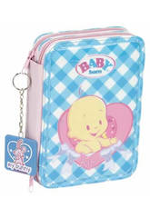 PLUMIER DOBLE PEQ. BABY BORN
