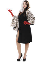 Disfraz Mujer L Malvada Cruela