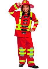 Costume Bimba L Vigile del Fuoco