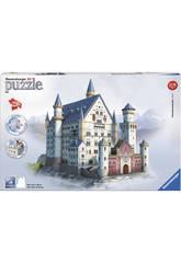 Puzle 3D Building Maxi Castillo Neuschwanstein Ravensburger 12573