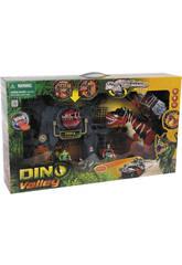 Dinovalley Mega Dinogate avec des Accessoires