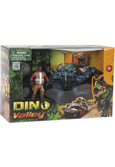 Dino Valley Dinosaure avec figurine