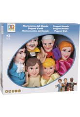 Marionetas del Mundo 6 piezas