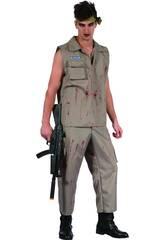 Disfraz Soldado Cruento Hombre Talla L