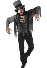 Kostüm Skelett Mann Größe L
