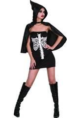 Disfraz Esqueleta Mujer Talla L