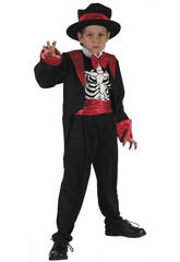 Disfraz Esqueleto Niño Talla M