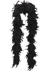 Boa Marabú 75-80 Grs Negra 180 Cm