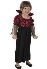 Disfraz Vampiresa Bebé Talla M