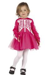Déguisement Squelette Fille bébé Taille S