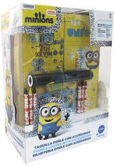 Minions Casier Double Glitter