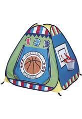 Casetta Di Tela Basket Con 100 Palline Colorate
