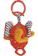 Peluche Hochet Éléphant