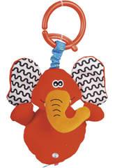 Peluche Musical con Colgante Elefante