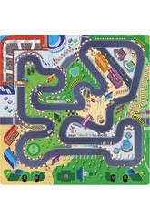 Puzzle Eva 9 piezas Circuito de Carreras