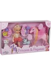 Princesse Elsie avec Poni et Accessoires