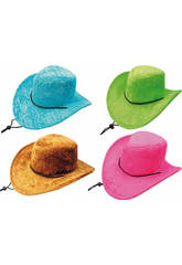 Chapeau Cow-boy 4 Assortis