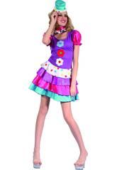 Costume Pagliaccio Donna XL