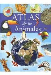Livre Atlas d'animaux Susaeta S0241