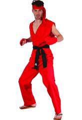Disfraz Karateka Hombre Talla XL