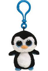 Peluche Llavero Waddles Penguin 10 cm