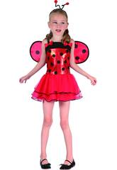 Disfraz Mariquita Lacitos Niña Talla XL