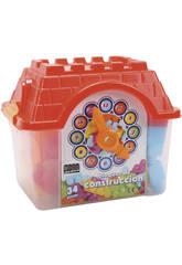 Casetta Cubo Con 34 Pezzi Costruzione