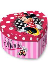 Boîte à Bijoux Musicale Coeur Minnie Shop