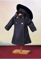 Cappotto Blu con Basco