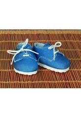 Chaussures Toile Bleu