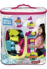Sacca Ecologica Maxi Blocchi Rosa 80 Pezzi Mattel DCH62