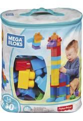 Mega Blocks Sac Bleu 80 Pièces Mattel DCH63