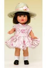 Mini Mariquita Perez Kleid Granat und Violett