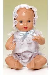 Mini Juanin Bebé Conjunto Bolillo Blanco Mariquita Pérez MJB05004