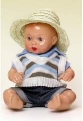 Mini Juanin Baby Cowboy und gestreifte Jacke