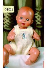 Mini Juanin Bebé Tutina di Punto Beige