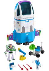 Toy Story 4 Buzz Lightyear Nave de Órden Estelar Mattel GJB37