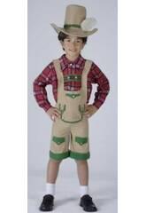 Kostüm Junge aus den Alpen Junge Größe L