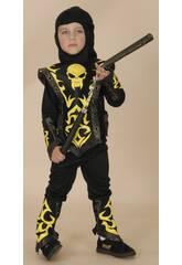 Disfraz Ninja Negro Bebé Talla M